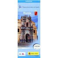 CNIG Maps Spain Wegenkaart 32 Provincie Murcia