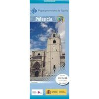 CNIG Maps Spain Wegenkaart 35 Provincie Palencia