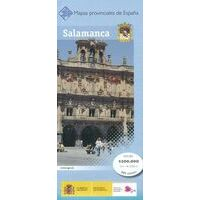 CNIG Maps Spain Wegenkaart 37 Provincie Salamanca