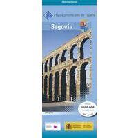 CNIG Maps Spain Wegenkaart 39 Provincie Segovia