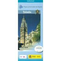 CNIG Maps Spain Wegenkaart 44 Provincie Toledo