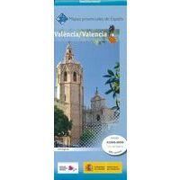 CNIG Maps Spain Wegenkaart 45 Provencie Valencia