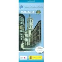 CNIG Maps Spain Wegenkaart 46 Provincie Valladolid