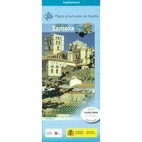 CNIG Maps Spain Wegenkaart 47 Provincie Zamora