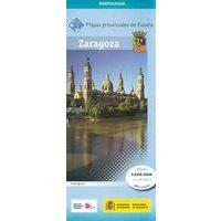 CNIG Maps Spain Wegenkaart 48 Provincie Zaragoza