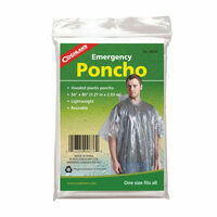 Coghlans Emergency Poncho Noodponcho Transparant