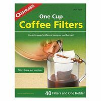Coghlans 40 Koffiefilterzakjes Met Houder