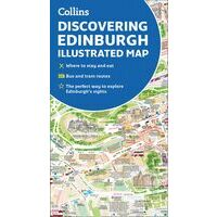 Collins Discovering Edinburgh Illustrated Map
