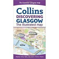 Collins Discovering Glasgow Illustrated Map
