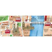 Collins Discovering London Illustrated Map