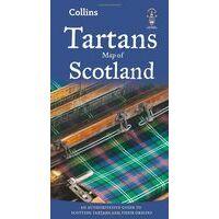 Collins Tartans Map Of Scotland - Clans Schotland