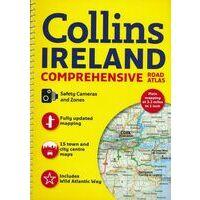 Collins Wegenatlas Ierland Comprehensive