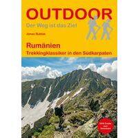 Conrad Stein Verlag Wandelgids Rumänien: Trekkingklassiker Sudkarpaten