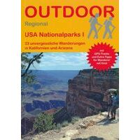 Conrad Stein Verlag Wandelgids USA Nationalparks I