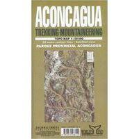 Cordee Aconcagua Topo Map 1:50.000