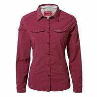 Craghoppers Nosilife Adventure II Long Sleeved Shirt Ws