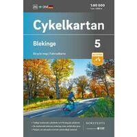 Cykelkartan Fietskaart Zweden Fietskaart 05 Blekinge