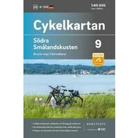 Cykelkartan Fietskaart Zweden Fietskaart 09 Smalandkust Zuid