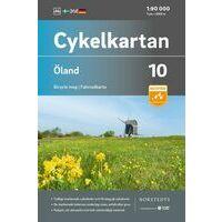Cykelkartan Fietskaart Zweden Fietskaart 10 Öland