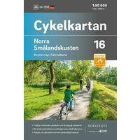 Cykelkartan Fietskaart Zweden Fietskaart 16 Smalandkust Noord