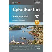 Cykelkartan Fietskaart Zweden Fietskaart 17 Bohuslan Zuid