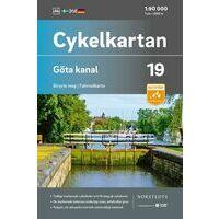 Cykelkartan Fietskaart Zweden Fietskaart 19 Gota Kanaal