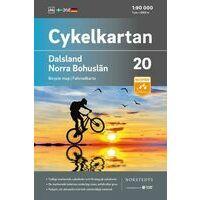 Cykelkartan Fietskaart Zweden Fietskaart 20 Dalsland Noord