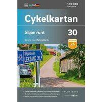 Cykelkartan Fietskaart Zweden Fietskaart 30 Siljanmeer