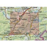 DAV Deutscher Alpenverein Topografische Kaart BY9 Estergebirge