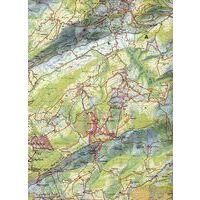 DAV Deutscher Alpenverein Topografische Kaart BY10 Karwendelgebirge Nordwest