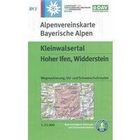 DAV Deutscher Alpenverein Topografische Kaart BY2 Kleinwalsertal
