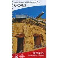 De Wandelende Cartograaf Wandelgids 3 GR5/E2 Ardennen (Maastricht- Ouren)