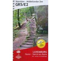 De Wandelende Cartograaf Wandelgids 2 GR5/E2 Luxemburg (Ouren- Sierck Les Bains)