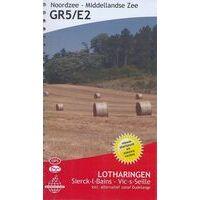De Wandelende Cartograaf Wandelgids 5 GR5/E2 Lotharingen