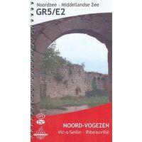 De Wandelende Cartograaf Wandelgids 6 GR5/E2 Noord-Vogezen Vic-sur-Seille