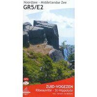 De Wandelende Cartograaf Wandelgids 5 GR5/E2 Zuid-Vogezen