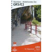 De Wandelende Cartograaf Wandelgids 6 GR5/E2 Jura St-Hippolyte - Nyon