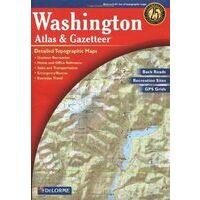 Delorme Wegenatlas & Gazetteer Washington State