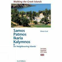 Dieter Graf Verlag Wandelgids Samos, Patmos, Ikaria & Kalymnos