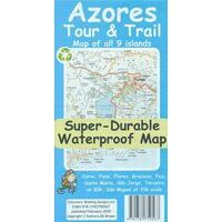 Discovery Walking Wandelkaart Azores Tour & Trail