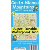 Discovery Walking Wandelkaart Costa Blanca Mountains