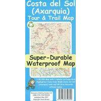 Discovery Walking Wandelkaart Costa Del Sol Tour & Trail Map