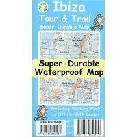 Discovery Walking Wandelkaart Ibiza Tour & Trail Map