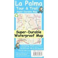 Discovery Walking Wandelkaart La Palma Tour & Trail