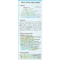 Discovery Walking Wandelkaart Malta & Gozo Tour & Trail Map