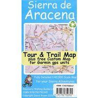 Discovery Walking Wandelkaart Sierra De Aracena Tour & Trail Map