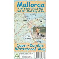 Discovery Walking Wegenkaart Mallorca Island Map+ Birdwatching Guide