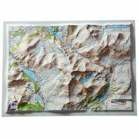 Dorrigo Reliëfkaart Snowdon 1:50.000