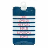 Dresz Luggage Tag Bagagelabel City
