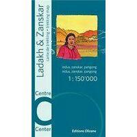 Editions Olizane Ladakh & Zanskar Centraal 1:150.000